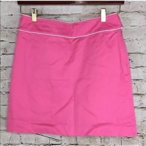 Ralph Lauren Golf Pink Mini A Line Skirt Skort 6